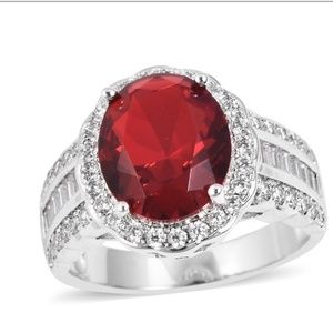 Red Glass Ring